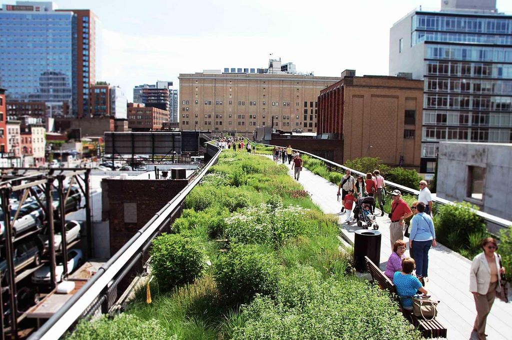 High line daily design idea for New york city highline